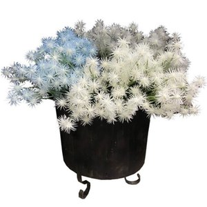 "Fake Dandelion (5 stems bunch 13.78"" Length Simulation Plastic Flower for Wedding Home Decorative Artificial Flowers"