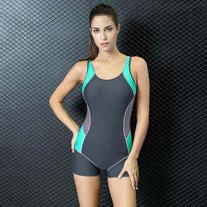 Sıcak 2019 Kadınlar Yaz Profesyonel Mayo Mayo Seksi Açık Geri Tayt Mayo Tek parça Yüksek Kalite Artı boyutu Yüzme Giyim