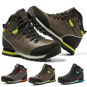 cungel Outdoor Big Size водонепроницаемая походная обувь для мужчин замшевые дышащие треккинговые кроссовки горные ботинки анти-скользкие кроссовки