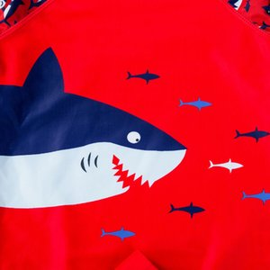 3PCS Kids Baby Boy Girl Swimwear Sun Protective Swimsuit Shark Costume Bathing Suit Swimming Suit For Kids Clothes Bikini Set