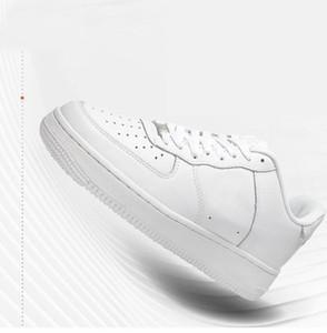 nike air forces 1 Оптовые af1 новые люди Принудительные Полуботинки дышащий Один Унисекс 1 Knit Euro Design Air High Женщины Все Белый Черный Красный Мода Повседневная обувь