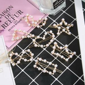 7 Styles Diamante Cristal Perle Perle Couronne Barrette cheveux pince à cheveux Pins Pince Épingle Nouveau
