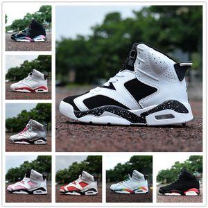 2018 crianças baratos athletic shoes 6 crianças tênis de basquete j6 athletic sport sneakers para meninos e menina toddlers presente de aniversário, 11c-6y