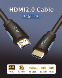 Câble HDMI 2.0 HDMI vers HDMI 3m 5m 8m 10m 15m support ARC 3D HDR 4K Ultra HD 60Hz pour Splitter Commutateur PS4 TV Box Projecteur