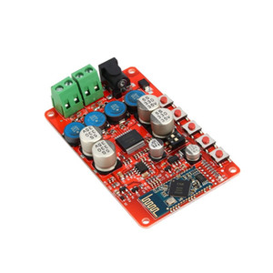 Freeshipping sem fio Bluetooth 4.0 Áudio Receptor Digital TDA7492P 25W + 25W Amplificador Board