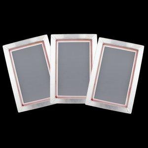 3x Print Screen Telaio Alum Mesh professionale per stampato 20x30cm 77/90 / 120T