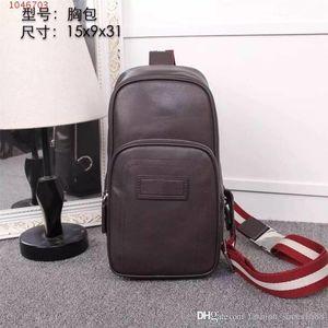 Sacos de moda e bolsas de grife de moda primavera e no verão novos homens listrados laptop bag slung saco de couro maleta de negócios