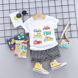 Детский летний бутик одежды новорожденного мальчика мальчиков малыша детская одежда 2 шт. высокое качество детской детской одежды
