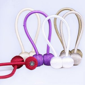 Magnetic Spherical buckle Holder Tieback Round Curtain Other Decor Home Dcors Curtain Accessories Home Decoration