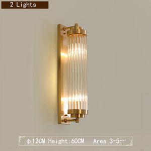 Paralume in cristallo Moderno applique da parete in oro nero di lusso moderno Lampade a LED Lampade Lampadario Soggiorno Illuminazione in vetro trasparente Comodino