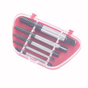 5 Pçs / set Aço Quebrado Velocidade Para Fora Danificado Extrator de Parafuso Broca Guia Conjunto Quebrado Parafuso Removedor Fácil Fora Set