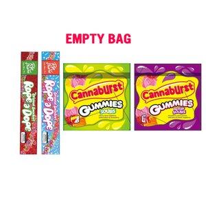 Пустой 500мг веревке Dope и 500мг Cannaburst Gummies Berry Кислый Sours пакетоупаковочные полудурков канат мешок