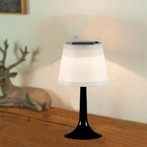 LED Solar Masa Lambası Masa Lambası Soğuk Beyaz 6000K sıcak beyaz 3000K Night Lights Kapalı Açık Masa Lambaları