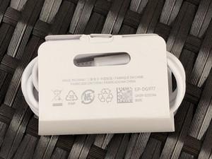 Nota 10 Ambos Cord 3A Tipo C cabo carregador rápido cabo de carregamento cabos de sincronismo de dados rápida cabo de carregamento para Samsung S20 Nota 10