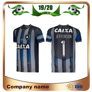 19/20 Botafogo Commemorative Edition Soccer Jerseys 2019 Botafogo Home Grey # 1 JEFFERSON Retro Special Goalkeeper T-Shirt da calcio uniforme