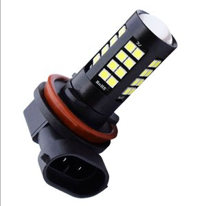 10PCS H11 H8 9006 4 1800LM 높은 전력 3030 LED 자동차 전면 안개등 전구 자동 운전 안개 램프 화이트 12V