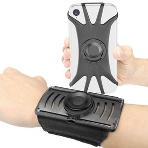 1 piece arm pack 360 degree rotating mobile phone holder arm with outdoor reflective mobile phone bracket bag Waist Support