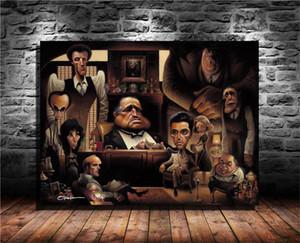 A Tribute To The Godfather giclée, HD Tela Stampa Nuova decorazione della casa Arte Pittura / (Unframed / Framed)
