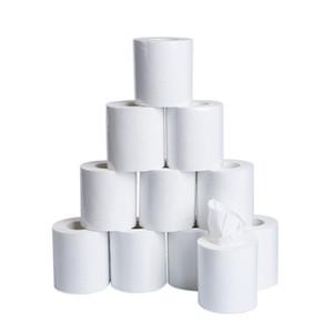3ply Havlu Mendil Ev tuvalet kâğıdıyla 2020 Of Toptan Beyaz Tuvalet Kağıdı Rulo Doku Paketi