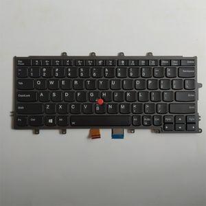 Бесплатная доставка! Оригинальный новый ноутбук клавиатура с подсветкой для Lenovo Thinkpad X230S X240 X240S X260 X250
