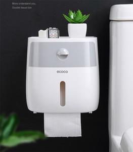 Водонепроницаемый Настенный держатель для туалетной бумаги Полка для туалетной бумаги Лоток для рулонной бумаги труб Ящик для хранения Креативный лоток Tissue Box Главная