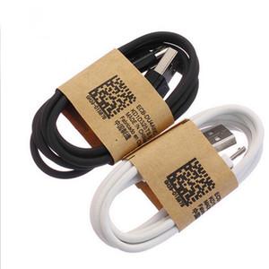 de datos USB 5pin 3 pies Blanco Negro Micro sincronización de carga Cables V8 para Samsung Galaxy S3 teléfono S4 S6 S7 nota borde 2 4 HTC Android de LG