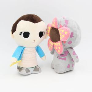 2020 20cm (8 polegadas) Stranger Things Temporada 3 Plush Doll 2019 de Nova dupla onze Stuffed Boneca Toys Kid presente L284