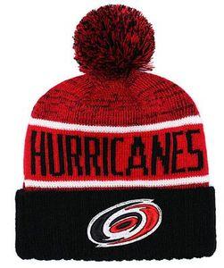 Hurricanes Hockey Carolina maglia berretti ricamo cappello regolabile snapback ricamato cappelli nero grigio bianco cucita un taglia