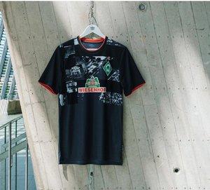 thailand 20 21 SV Werder Bremen third Soccer Jerseys 2019 2020 home football jersey 2021 black KLAASSEN Füllkrug BITTENCOURT RASHICA PIZARRO