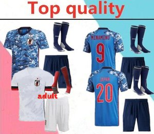 2020 squadra nazionale del Giappone HONDA adulto Jersey di calcio kit completo 2020 della squadra nazionale di calcio maglie KAGAWA OKAZAKI Uomini kit maglia da calcio con così