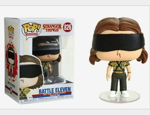 Kawaii In stock Funko Pop stranger things eleven Action Figure Toys brush pot for kids toy #826