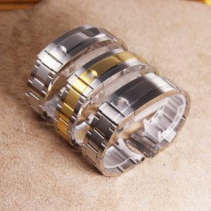 20mm Paslanmaz Çelik Watchband İçin Rolex Alt denizci Kayışı Bileklik