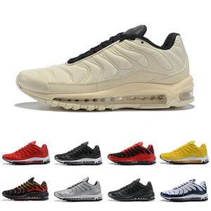 nike air max tn shoes New arrival TN mais homens mulheres tênis de corrida triplo preto amarelo treinamento esportivo ao ar livre dos homens formadores sapatilhas Zapatos 36-46