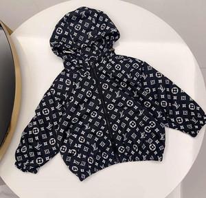 A02 Lüks Bebek Boys Ceket Bebek Boys Kapşonlu Coat Çocuk Giyim Ceketler Bebek Kız Erkek Giyim Dış Giyim