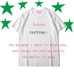 Nouvelle lettre T-shirt d'été Print Designer hommes T-shirt Coton Mélange Top T-shirts manches courtes Casual Shirt Marque Chemises Designer T-shirts