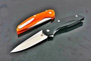 Shirogorov soldat 5CR15MOV lame G10 poignée couteaux de chasse couteau pliant de camping-cadeaux 04982