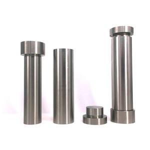 Premium in acciaio inox Maniglia Pollen Press Hash Compress durevole del metallo Cilindro Press Polline metallo fumo del tabacco da pipa Grinder Accessori