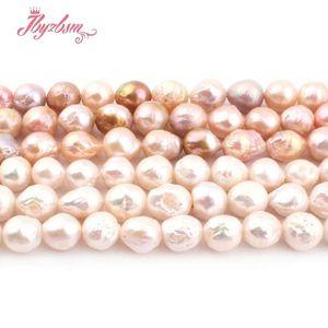 """9-10mm Nearround Keshi Edsion branelli della perla Perline di pietra naturale per i monili della collana del braccialetto di DIY che fanno Strand 14.5"""""""