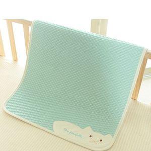 Водонепроницаемые Пеленки для пеленания колодки Чехлов для младенцев изоляции дышащих Пледиков Pad Моющегося Covers