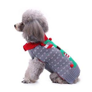 Cão roupas de inverno gato do gato do cão feio Jacket Natal Sweater Pet Velocino pano Sweater macio morno decoração US Natal pet