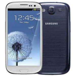 Remodelado Original Samsung Galaxy S3 I9300 I9305 4,8 polegadas Quad Núcleo 3G WCDMA 4G LTE desbloqueado barato Telefone celular gratuito DHL 1 pc