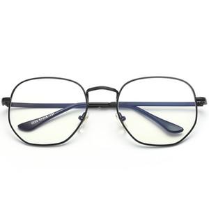 Brand Designer Computer Radiation Glasses Occhiali per radiazioni per telefoni cellulari Occhiali per computer portatili Occhiali anti-fatica anti-blu con montatura grande