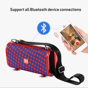 TG123 Su geçirmez Kablosuz Bluetooth 4.2 Hoparlör Süper Bass Subwoofer Açık Ses Kutusu FM El Stereo Hoparlör + 16G TF Kart