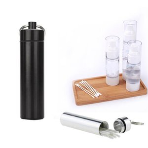 Waterproof Pocket Toothpick Holder Eco-Friendly Toothpick Ultralight Portable Paliteiro Titanium Alloy Pill Case Container