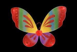 Engel Schmetterlings Fee Flügel Mädchen Baby Kleinkind Erwachsenen Kleid Partei GB422
