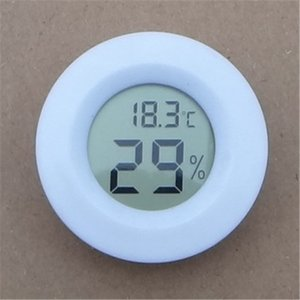 مصغرة lcd ميزان الحرارة الرقمي الثلاجة الثلاجة الفريزر اختبار درجة الحرارة الرطوبة متر الكاشف المرسام pet السيارات السيارات