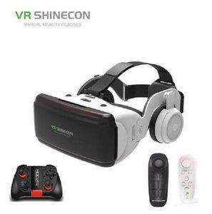 2020 Новый VR SHINECON BOX 5 Mini VR очки 3D G 06E очки виртуальной реальности очки VR Гарнитура для Google картонный с наушников