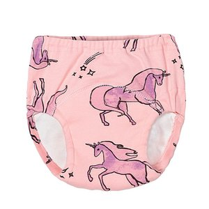 4pcs lot Waterproof Toilet Potty Training Pants Reusable Dinosaur Swan Toddler Underwear Cloth Panties for Old Kids