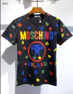 lbMoschino camiseta tee palangre hip hop camisas justin bieber ropa botín harajuku roca camiseta homme