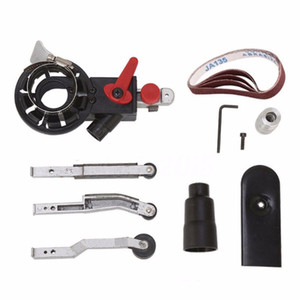 Adattatore Mini Belt Sander Carteggiatura fai da te Bandfile Belt Sander per 4 '' Electric smerigliatrici angolari con M10 filettata